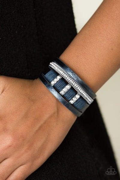 FAME Night - Blue Clasp Bracelet