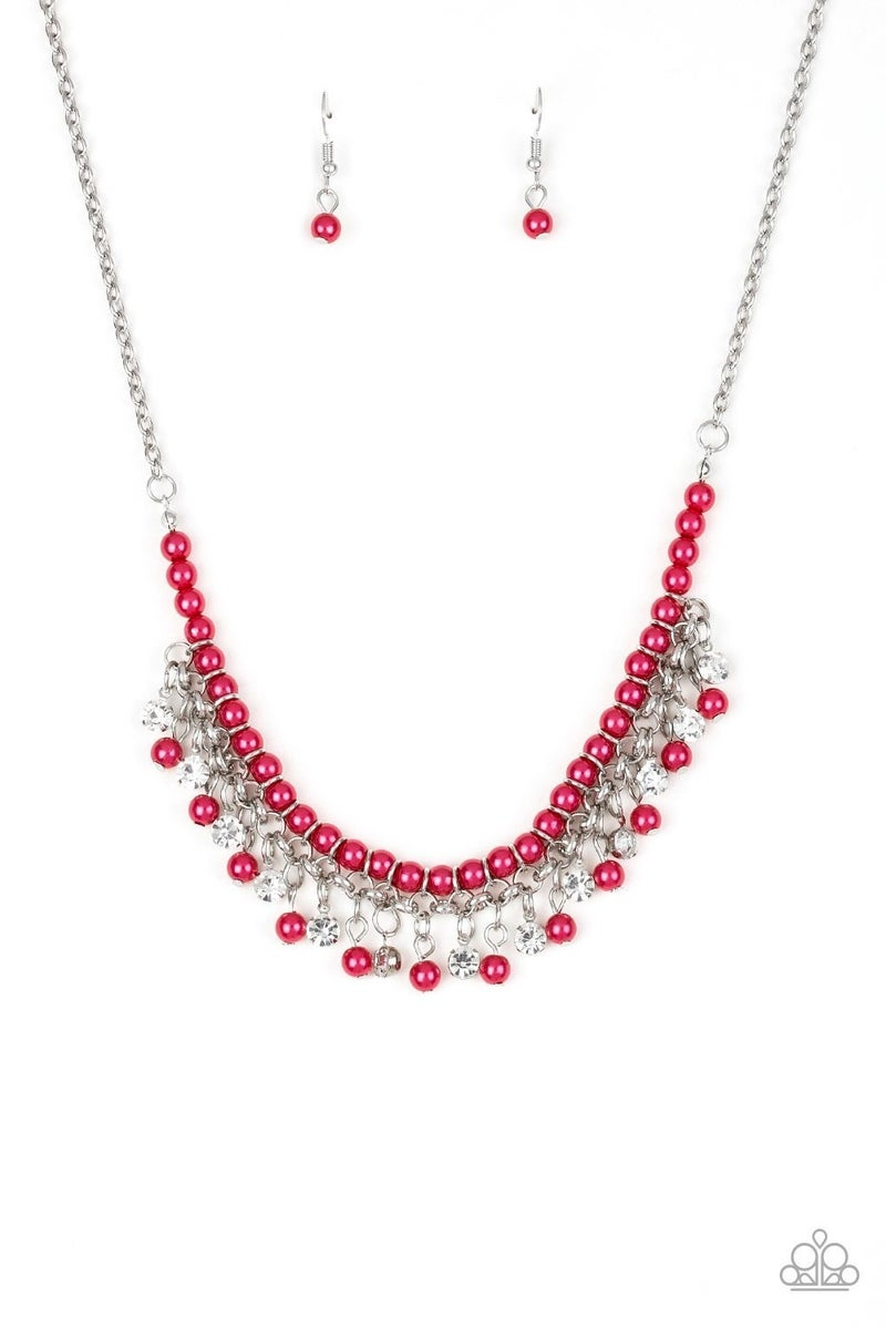 A Touch of CLASSY - Pink Necklace