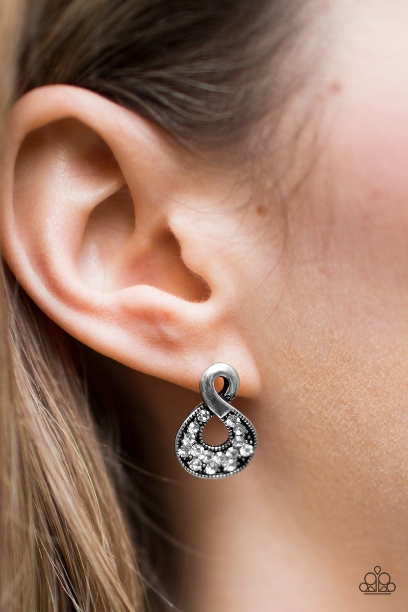 Waiting for Tomorrow - White Earrings