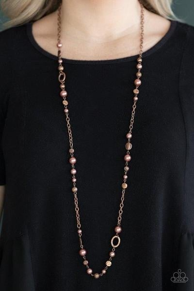 Make An Appearance - Copper Necklace