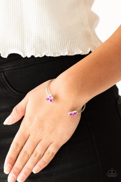 Going For Glitter - Pink Cuff