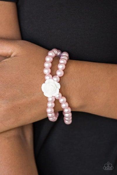 Posh and Posy - Pink Stretchy Bracelet