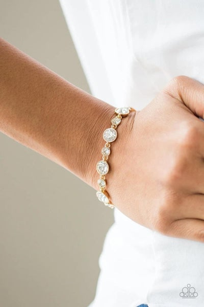 Starstruck Sparkle - Gold Clasp Bracelet