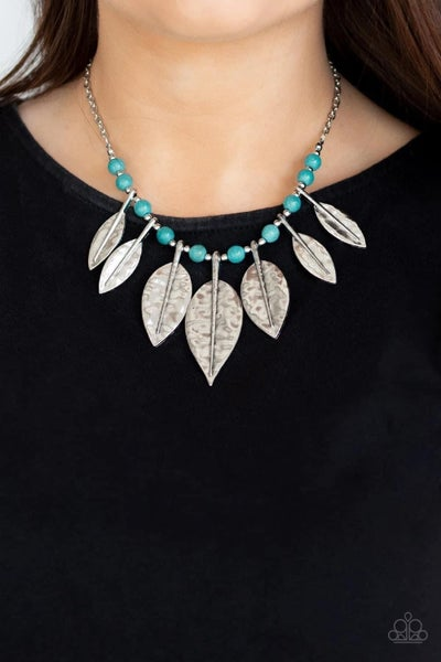 Highland Harvester - Blue Necklace