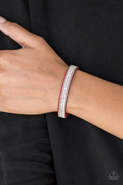 Babe Bling - Red Snap Wrap