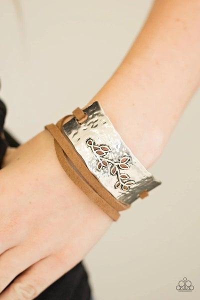 Branching Out - Brown Urban Bracelet