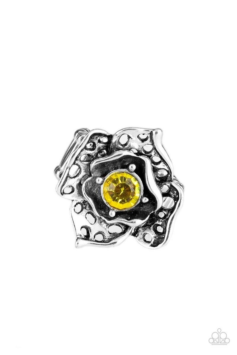 Glowing Gardens - Yellow Ring