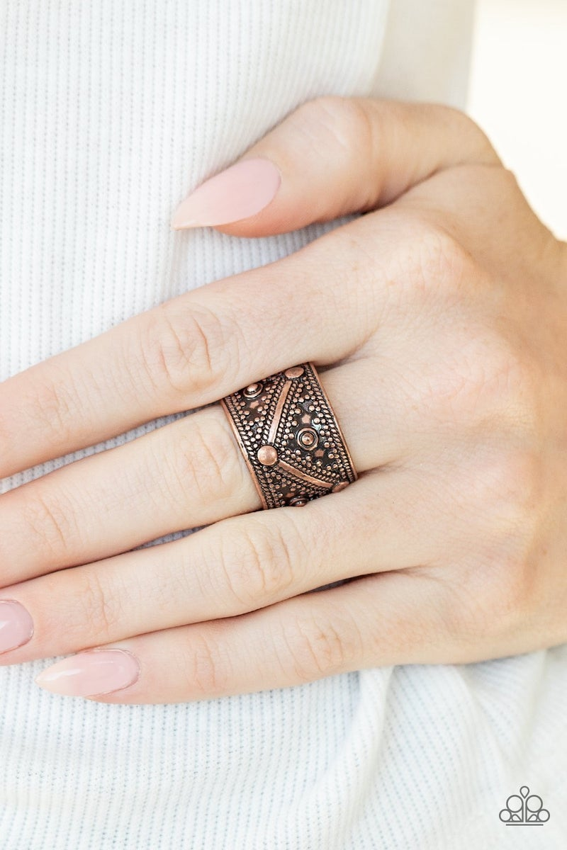 Primal Patterns - Copper Ring