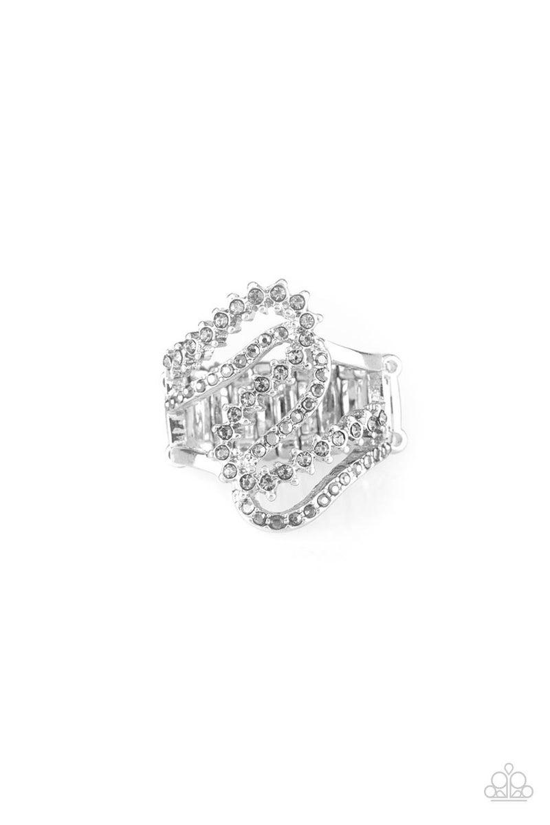 Make Waves - Silver Ring