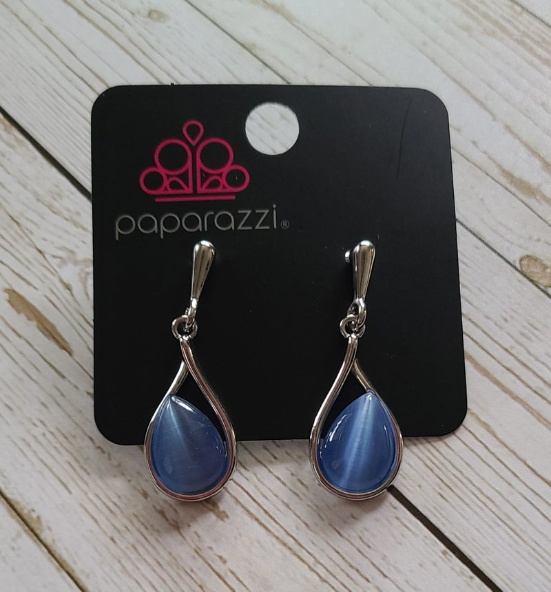 Pampered Glow Up - Blue Earrings