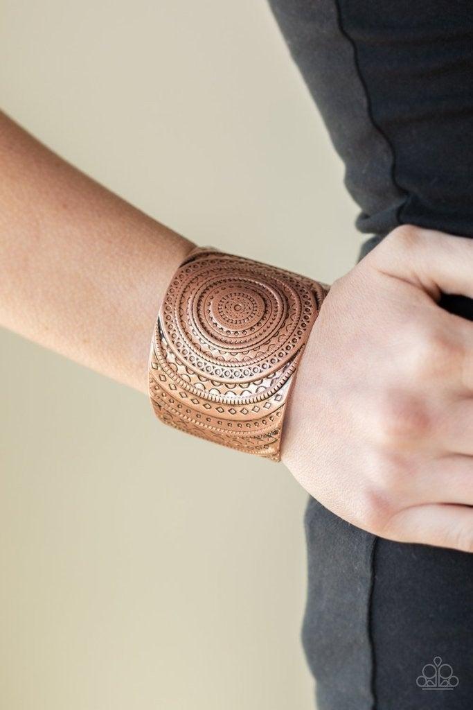 Bare Your SOL - Copper Cuff