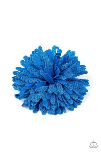 Neon Garden - Blue Hair Clip