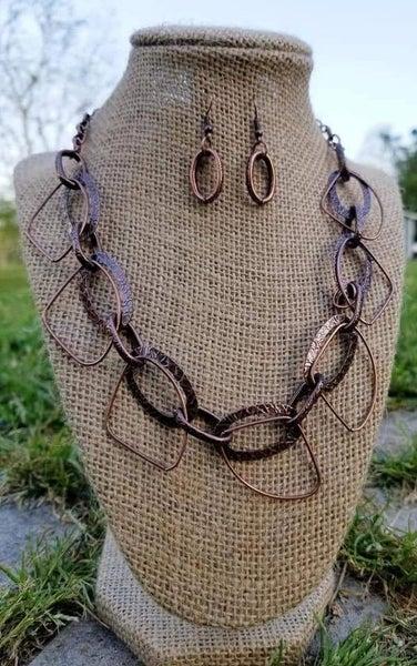 Very Avant-Garde - Copper Necklace
