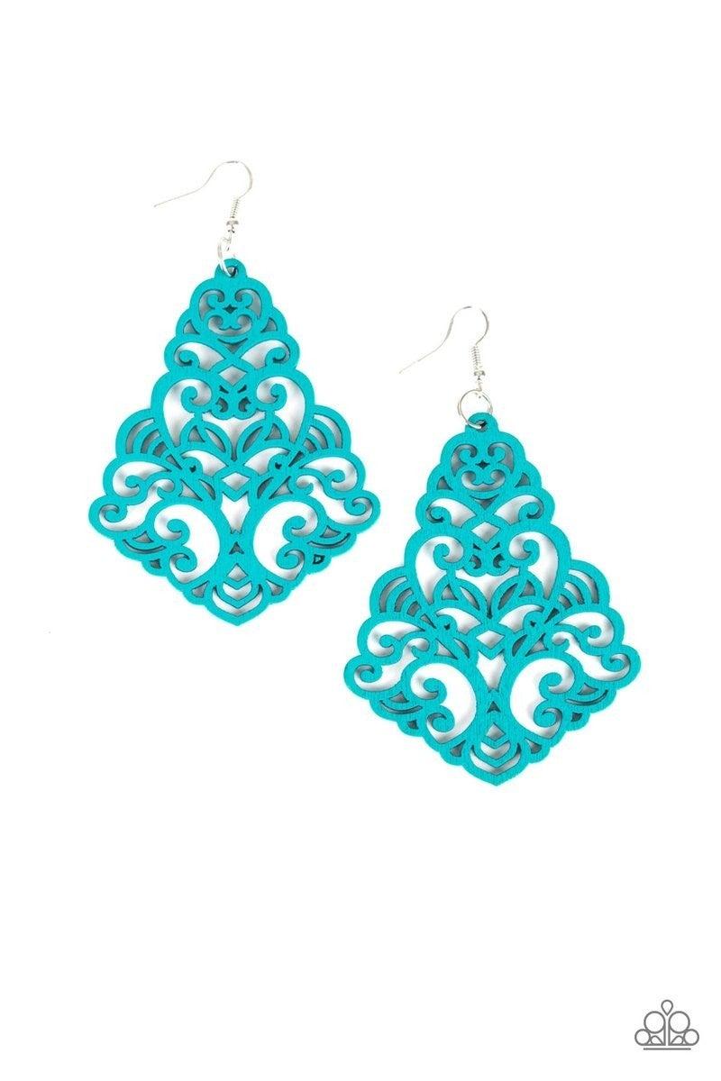 Powers of ZEN - Blue Earrings