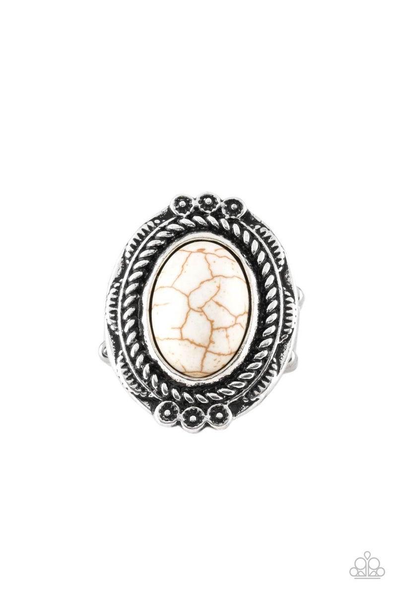 Tumblin Tumbleweeds - White Ring