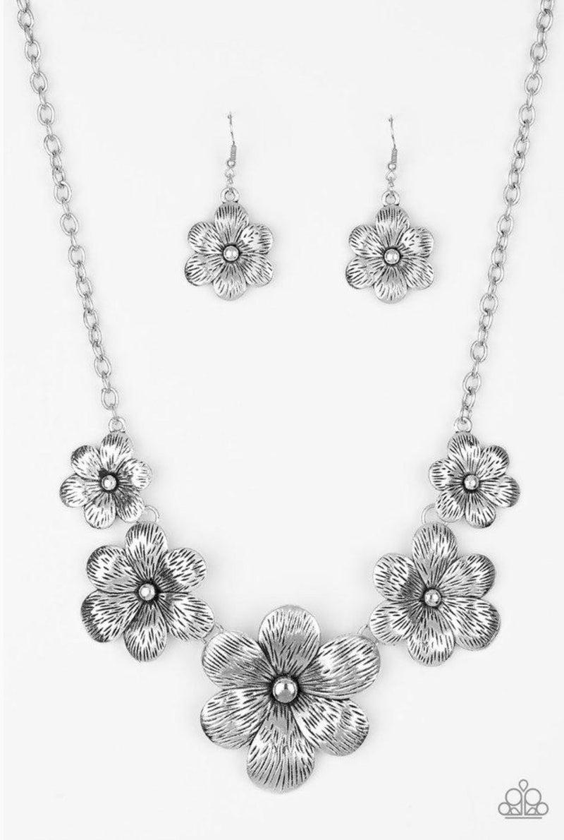 Secret Garden - Silver Necklace