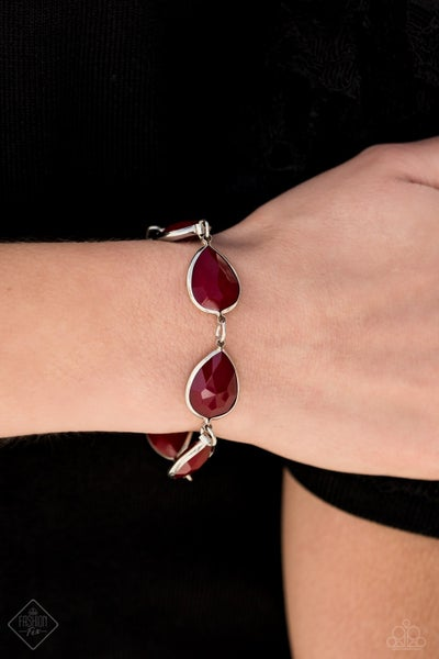 REIGNy Days - Red Clasp Bracelet