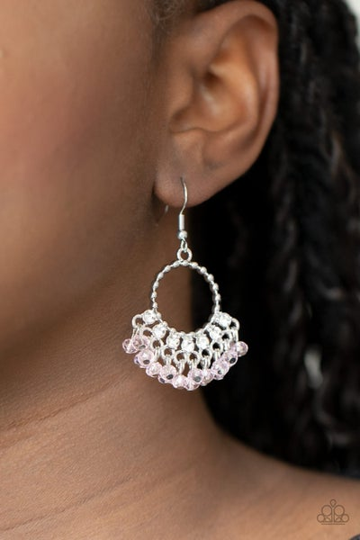 Charmingly Cabaret - Pink Earrings
