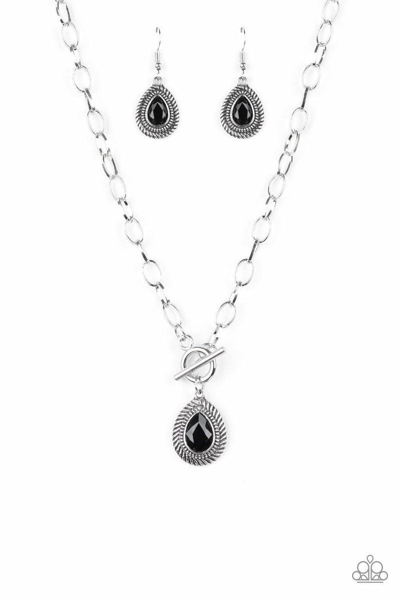 Sheen Queen - Black Necklace