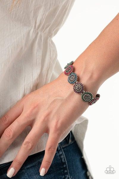 Bohemian Flowerbed - Multi Stretchy Bracelet