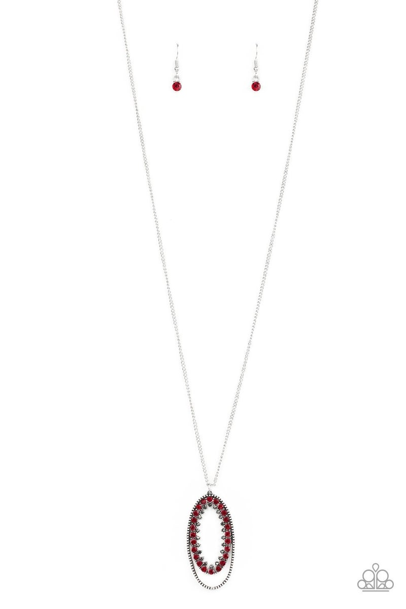Money Mood - Red Necklace