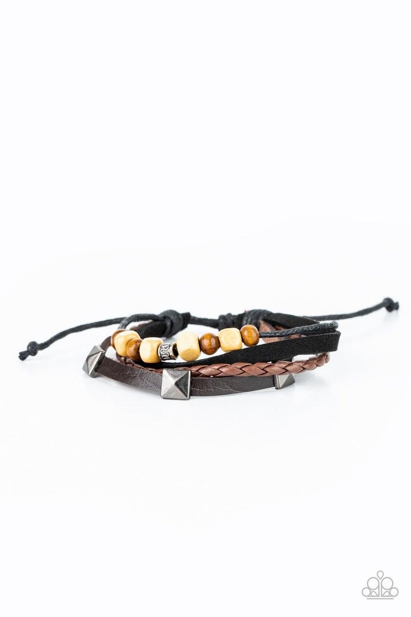 Solo Climb - Brown Urban Bracelet