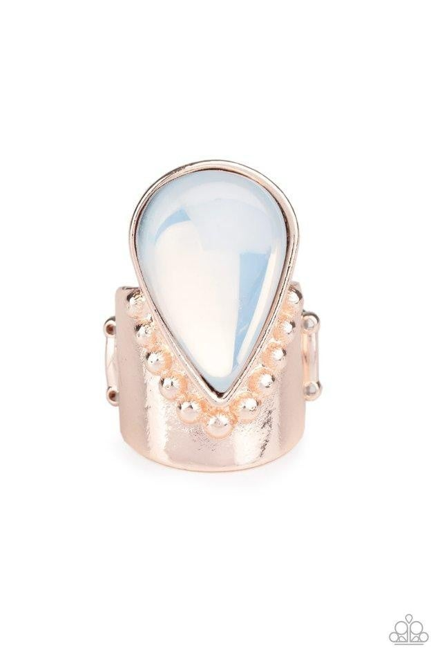 Opal Mist - Rose Gold Ring