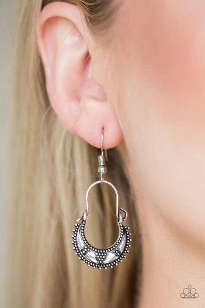 Industrially Indigenous - Silver Earrings