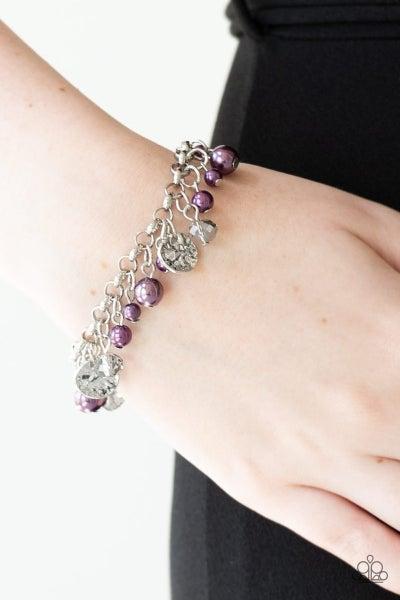 West Coast Wanderer - Purple Clasp Bracelet