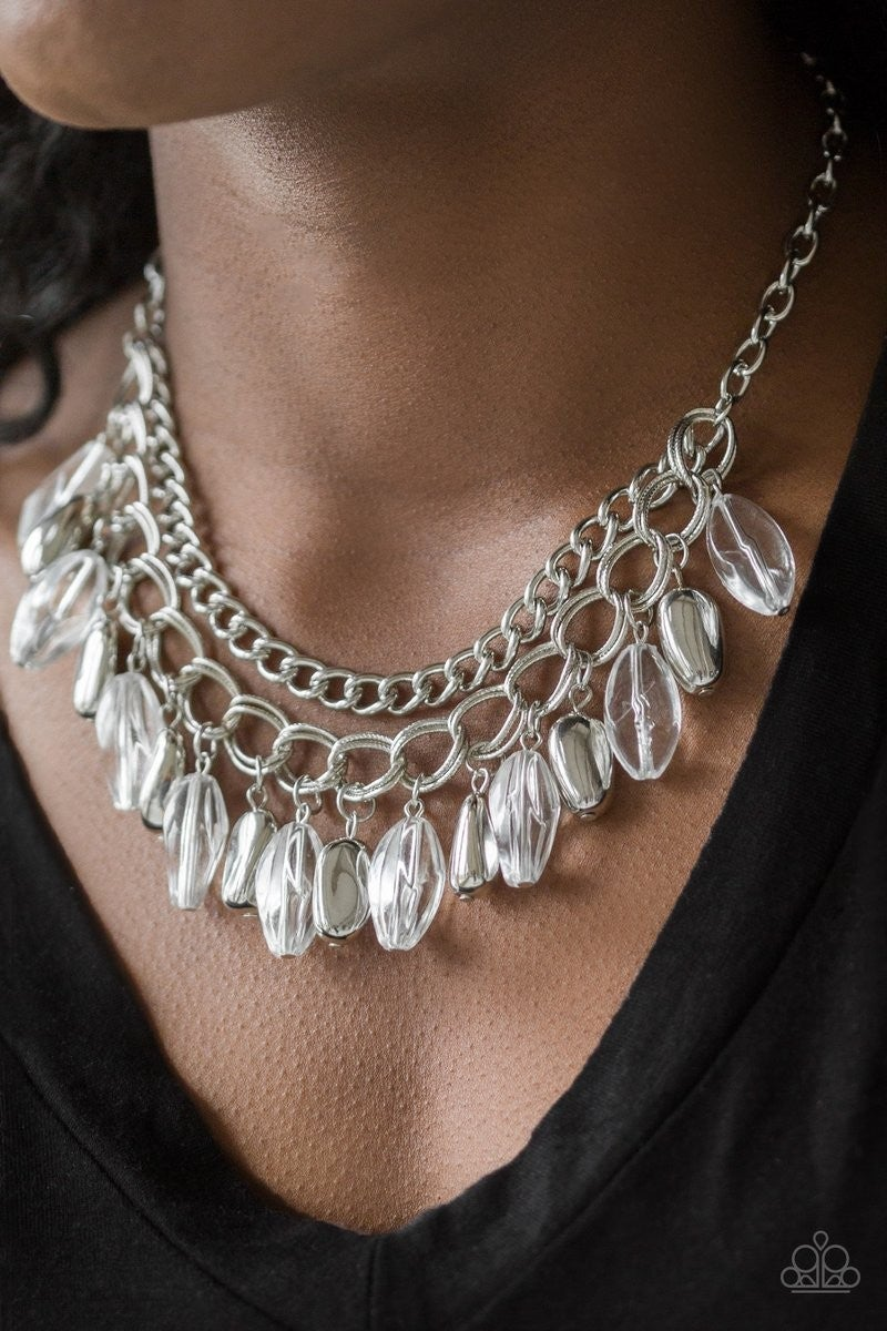 Spring Daydream - White Necklace