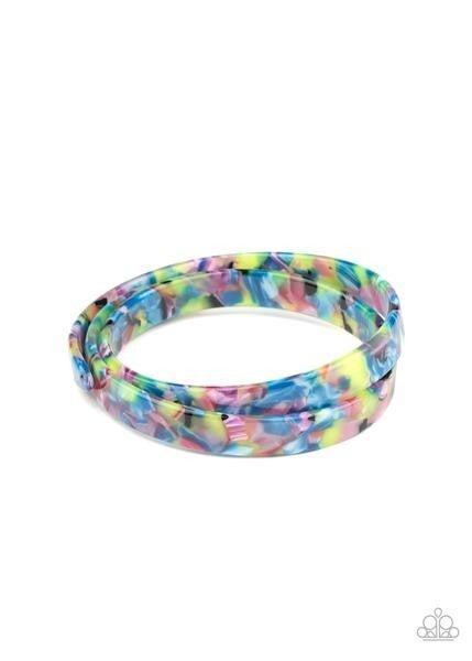 In The HAUTE Zone - Multi Coil Bracelet