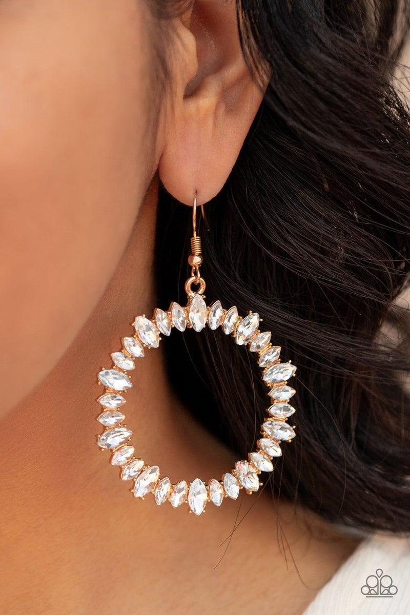 Glowing Reviews - Gold Earrings