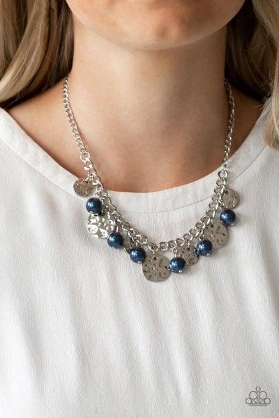 Seaside Sophistication - Blue Necklace
