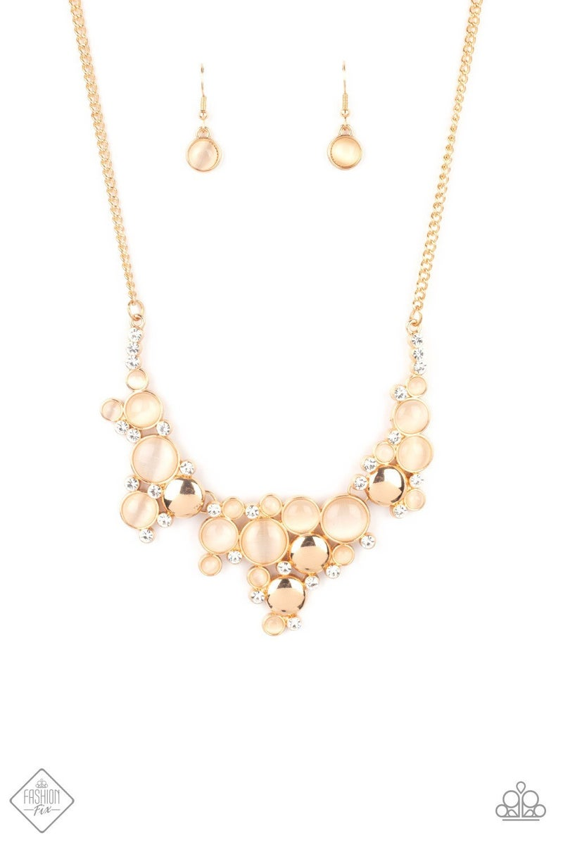 Fairytale Affair - Gold Necklace - June 2021 Fashion Fix