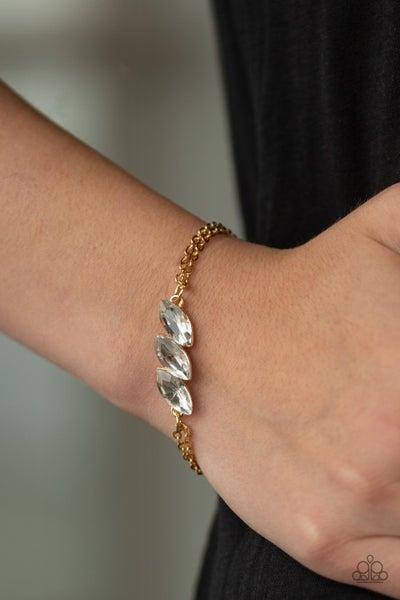 Pretty Priceless - Gold Clasp Bracelet