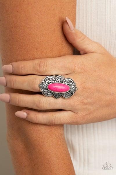 Lotus Oasis - Pink Ring