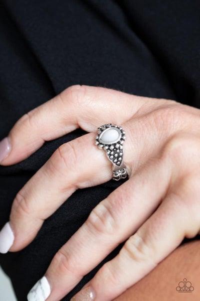 Pep Talk - Silver Ring