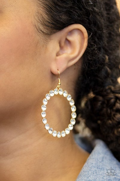 Welcome to the GLAM-boree - Gold Earrings