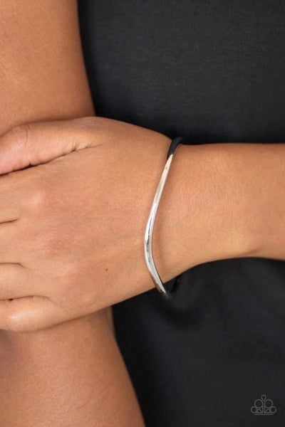 Awesomely Asymmetrical - Silver Bangles