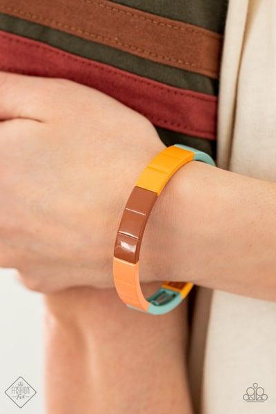 Material Movement - Multi Stretchy Bracelet - April 2021 Fashion Fix