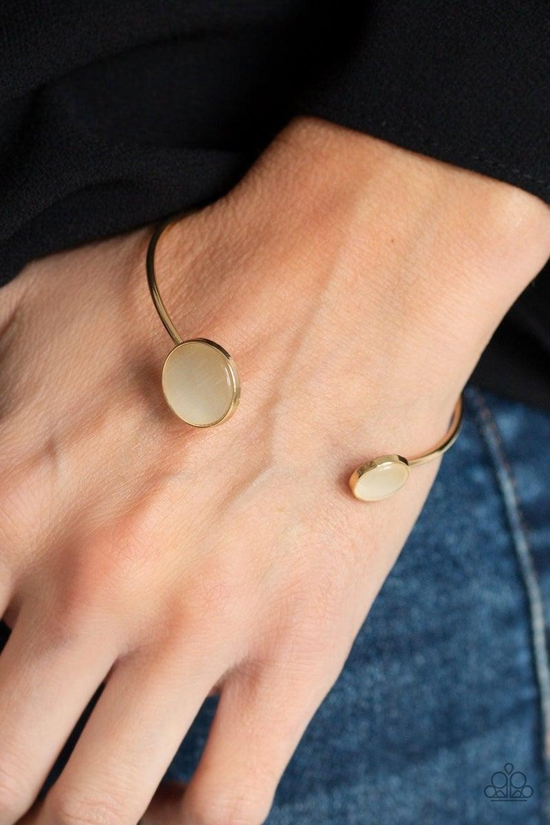 Brilliantly Basic - Gold Cuff
