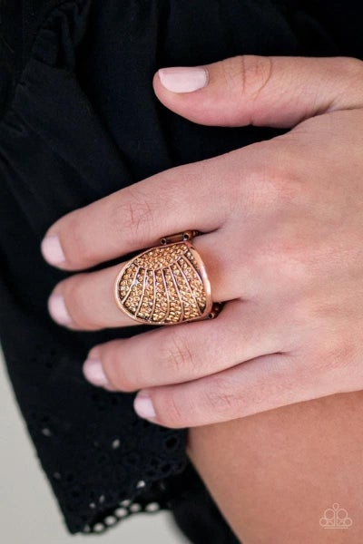Dazzle Daze - Copper Ring
