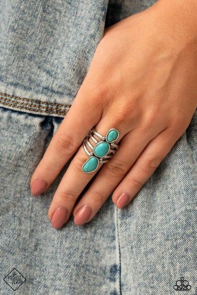 Extra Eco - Blue Ring - March 2021 Fashion Fix