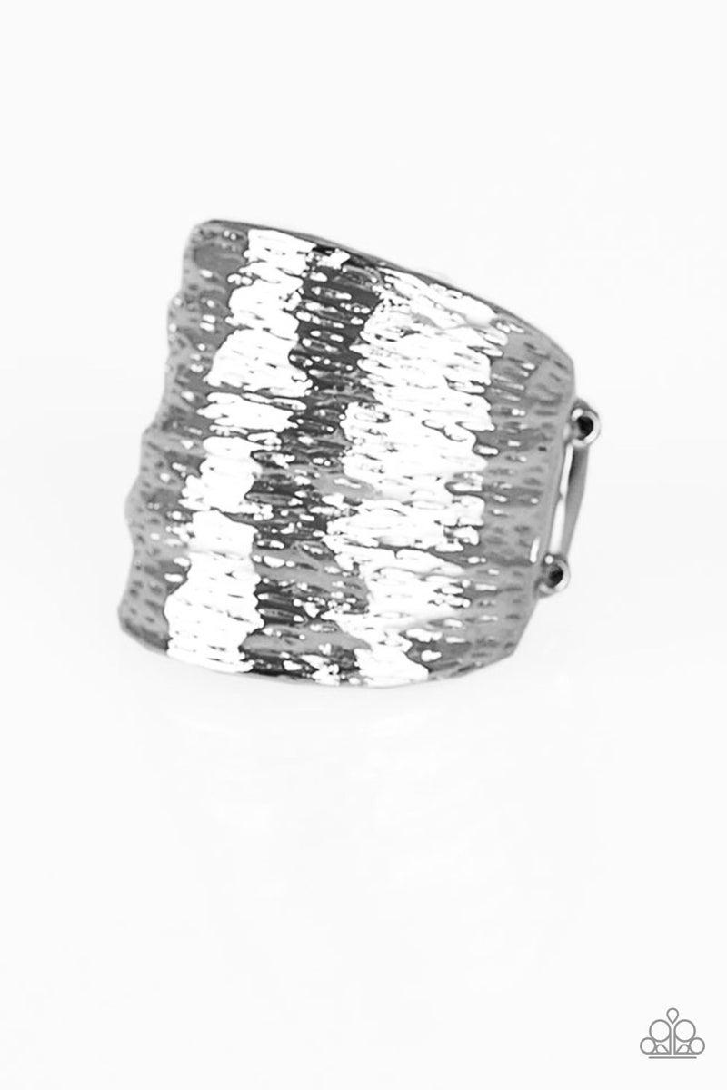 Paleo Patterns - Silver Ring