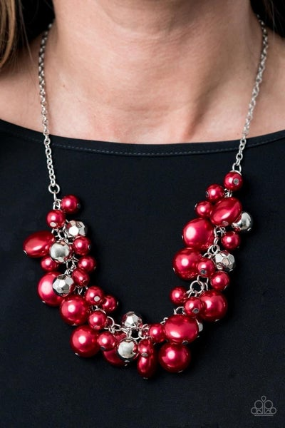 Battle of the Bombshells - Red Necklace