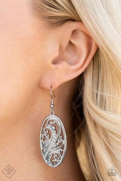 High Tide Terrace - Silver Earrings - August 2021 Fashion Fix