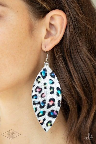Once a CHEETAH, Always a CHEETAH - Multi Earrings