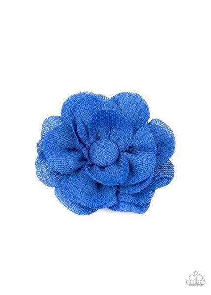 Summer Soiree - Blue Hair Clip