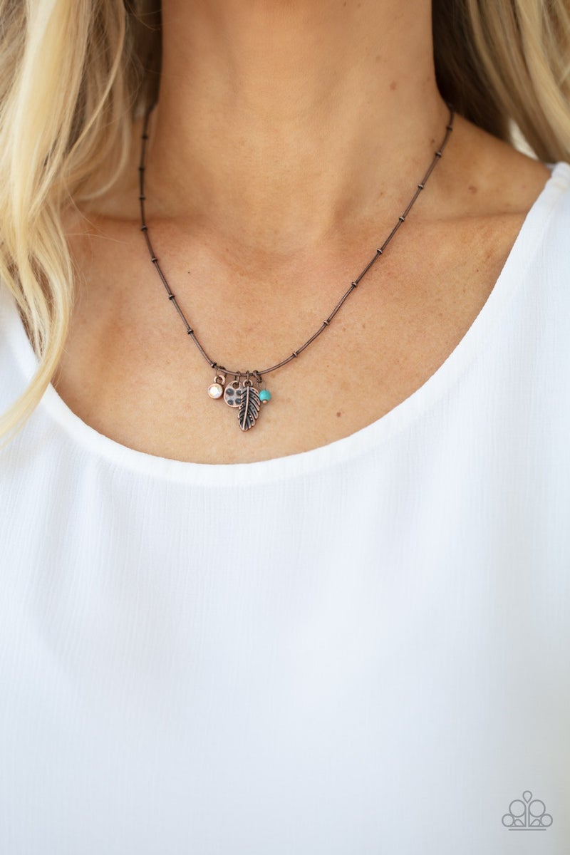 Wildly WANDER-ful - Copper Necklace