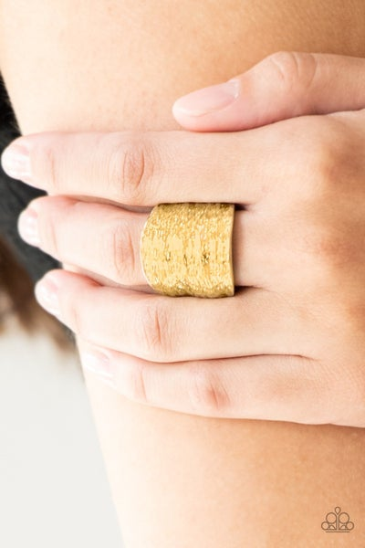 Paleo Patterns - Gold Ring